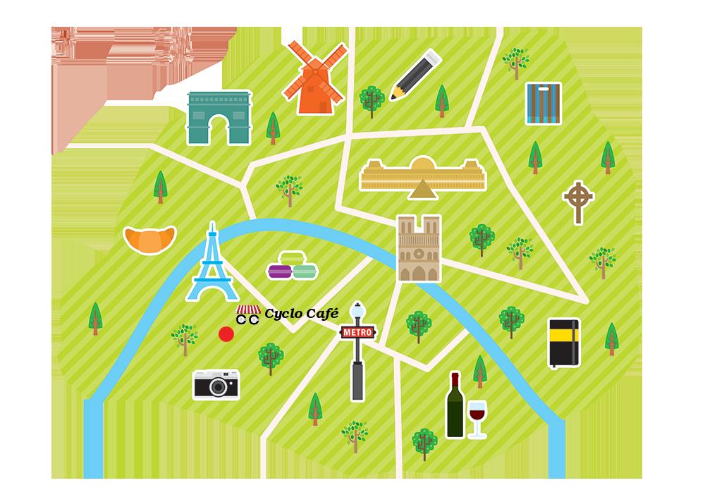 Routes of Paris